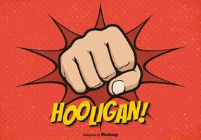 Hooligan Fist Vector Background