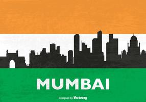 Free Skyline Mumbai Vector Silhouette