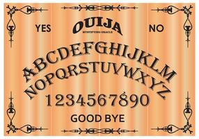 Free Ouija Board Vector Illustration