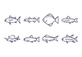 Gratis Fish Icon Vector