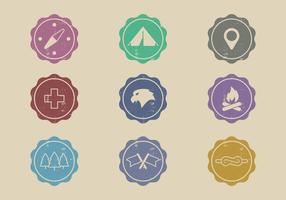 Etiquetas del explorador de la vendimia