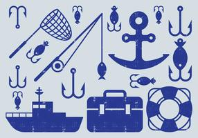Fishing Element Icons