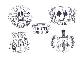 Free Old School Tattoo Collection
