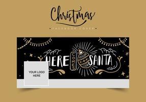 Capa de Facebook do Natal