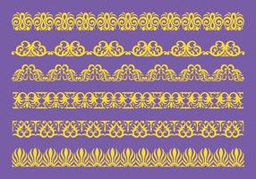 Free Lace Trim Ícones Vector