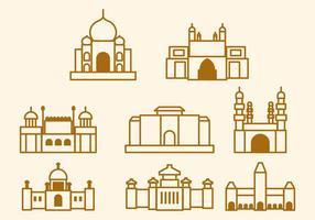Free India Landmark Vector