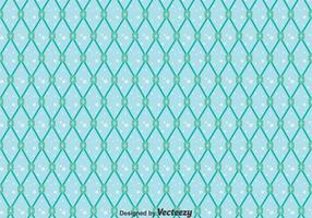 Blue Fish Net Seamless Pattern