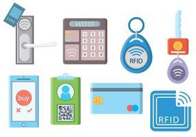 Vector libre RFID