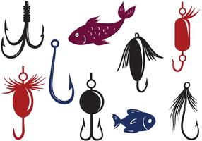 Free Fishing Lure Vectors