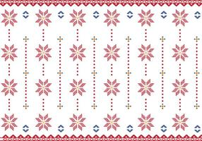 Pattern Of Indonesian Songket Illustration