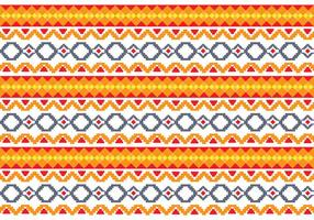 Pattern Of Indonesian Songket Illustration 3