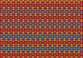 Pattern Of Indonesian Songket Illustration 2