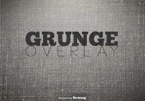 Vector Grunge Overlay Background