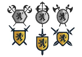 Lion Rampant Silhouettes Download Free Vectors Clipart Graphics Vector Art Apparently the rampant lion facing left is just rampant on the coats of arms of the member nations of benelux. lion rampant silhouettes download