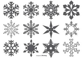 Formes Vector Snowflake