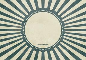 Grunge Sunburst Background