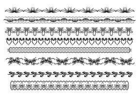 Gratis Lace Trim Vector