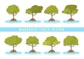 Free Mangrove Trees Vector
