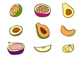 Vector Fruits gratuit