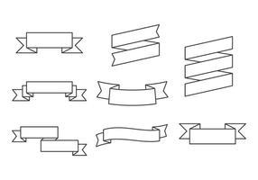 Vecteurs de ruban