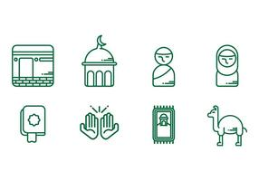 Makkah Icons vector