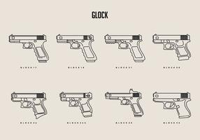 Glock Vectores