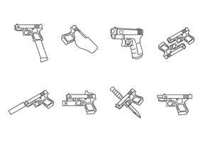 Glock-vectoren