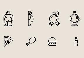 Fat Guy Icons