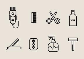 Hair Clippers Pictogrammen