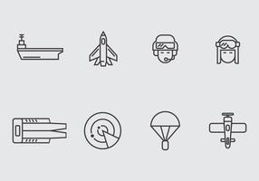 Aircraft Carrier Icon vector
