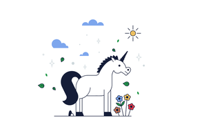Free Unicorn Vector
