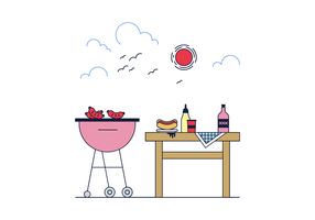 Gratis Barbecue Vector