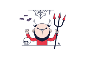 Gratis Devil Vector
