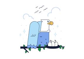 Vector Águila Libre