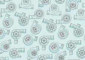Turbocharger Pattern Vector