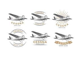 Cessna Logo kostenloser Vektor