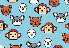 Pattern of Animals vector