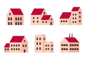 Vector de edificios libres
