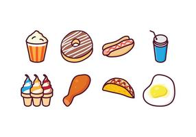 Free Food Vector Pack