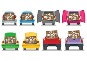 Free Car Boot Icons Vector