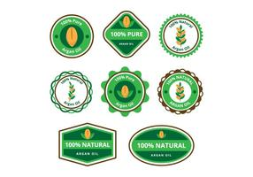 Free Argan Oil Badge