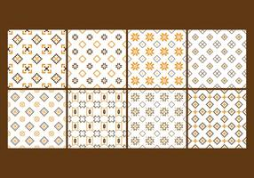 Free Songket and Batik Seamless Pattern