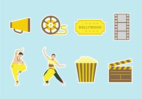 Free Bollywood Vector Icons
