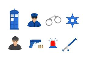 Free Police Vector Icon