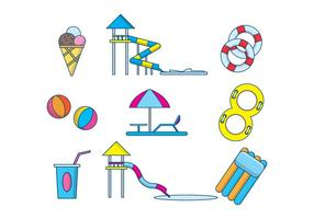 Free Water Park Vector