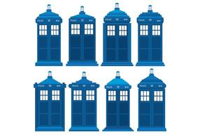 Tardis-icons-vector