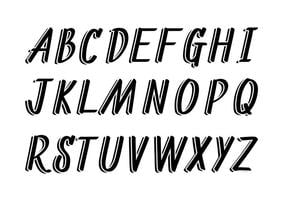 Letras Vector