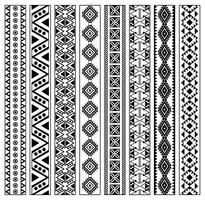 Kostenlos Huichol Pattern Vector