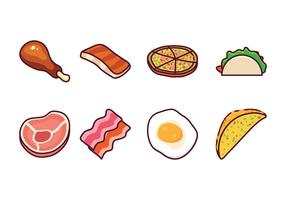 Gratis Food Vector Pack