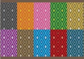 Huichol Small Patterns vector